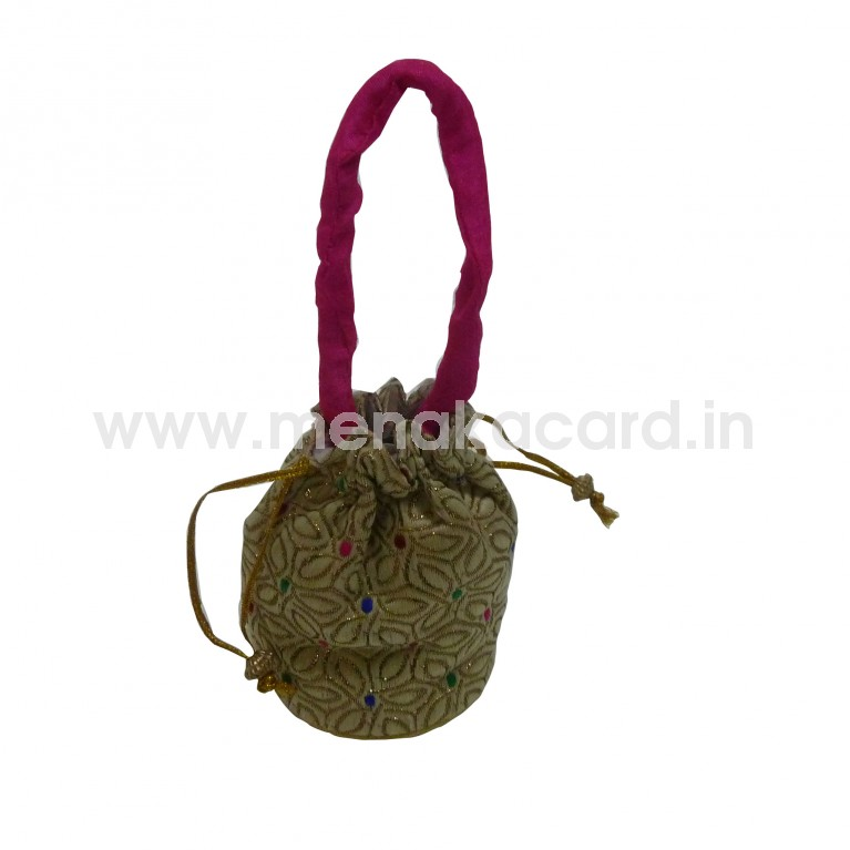 Potli bag - Flower design