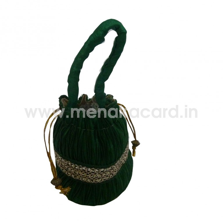 Potli bag - Crush bag Small
