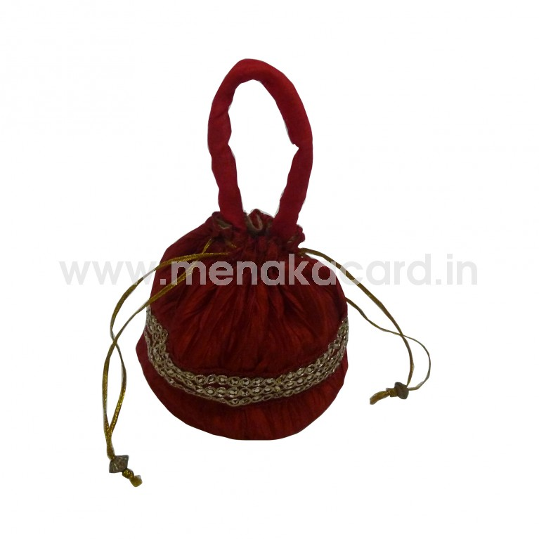 Potli bag - Crush bag Medium