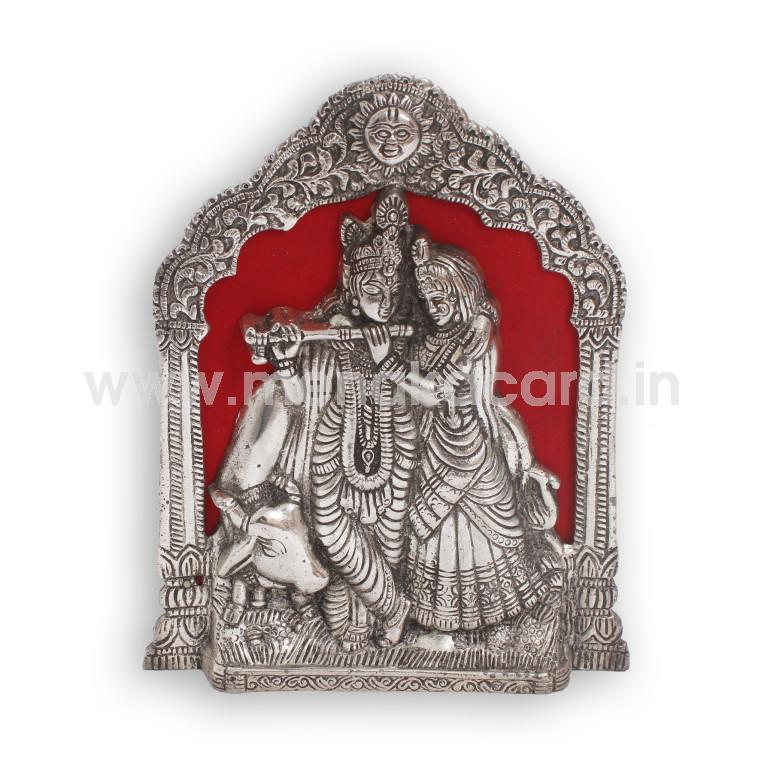 Radha Krishna Cow Frame