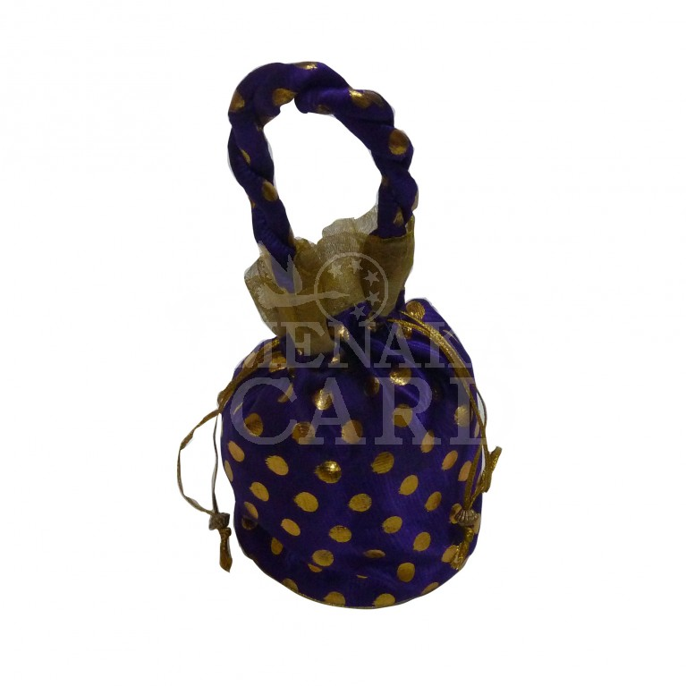 Potli baPotli bag - Golden dot