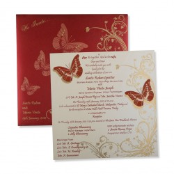 Wedding cards wedding invitations indian wedding cards pwc 3033 stopboris Gallery
