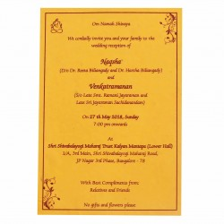 personal wedding invitations with photo option