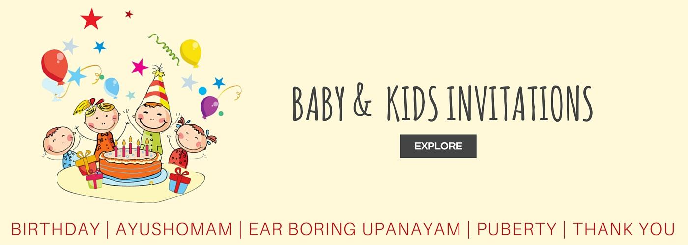Buy wedding cards marriage invitations arangetram invitations baby kids invitations stopboris Choice Image